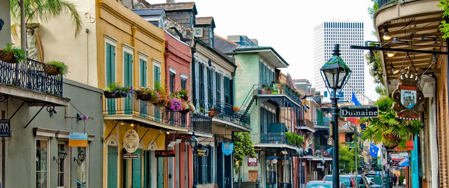View of New Orleans