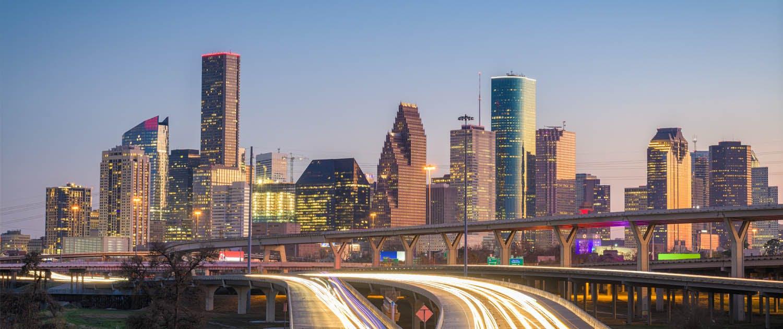 View of Houston