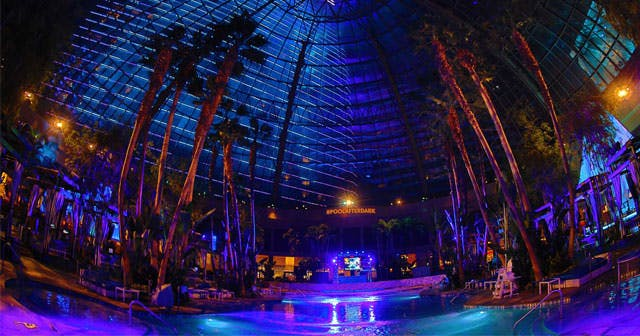 The Pool After Dark