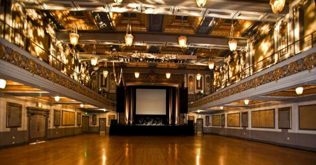 View of the interior of Regency Ballroom after getting free guest list