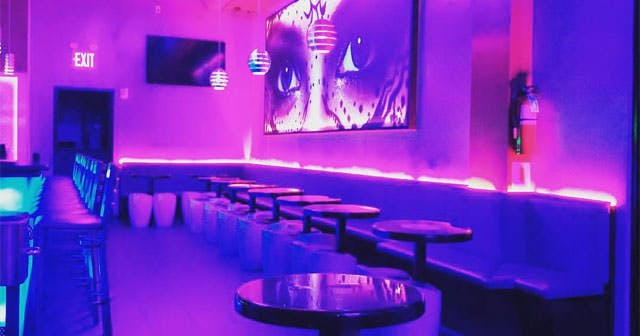 View of the interior of Doha Nightclub after getting free guest list