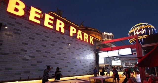 Inside look of Beer Park after getting free guest list