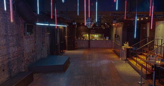 View of the interior of Cake Bar after getting free guest list