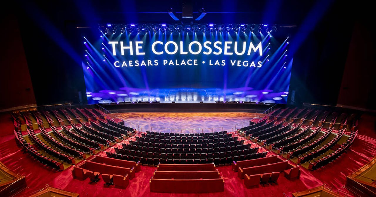 The Colosseum at Caesar's Palace