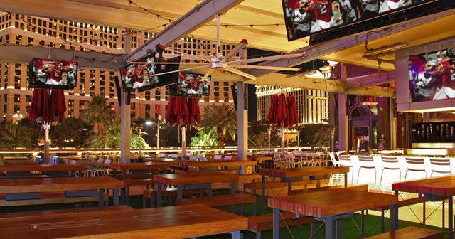 View of the interior of Beer Park after getting free guest list