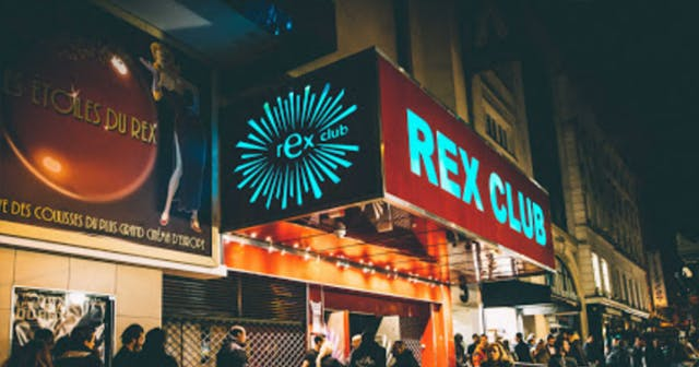 View of the interior of Rex Club after buying tickets