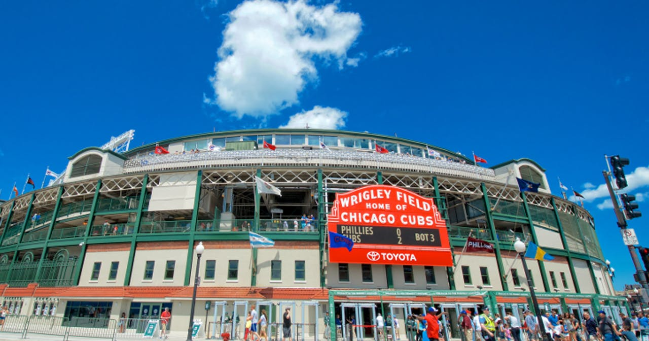 Inside look of Wrigley Field after getting free guest list