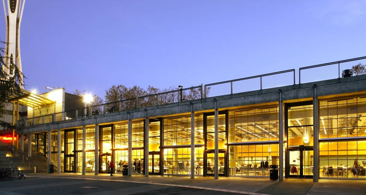 Fisher Pavilion at Seattle Center