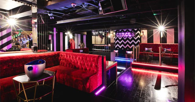 Inside look of Cirque Le Soir after getting free guest list