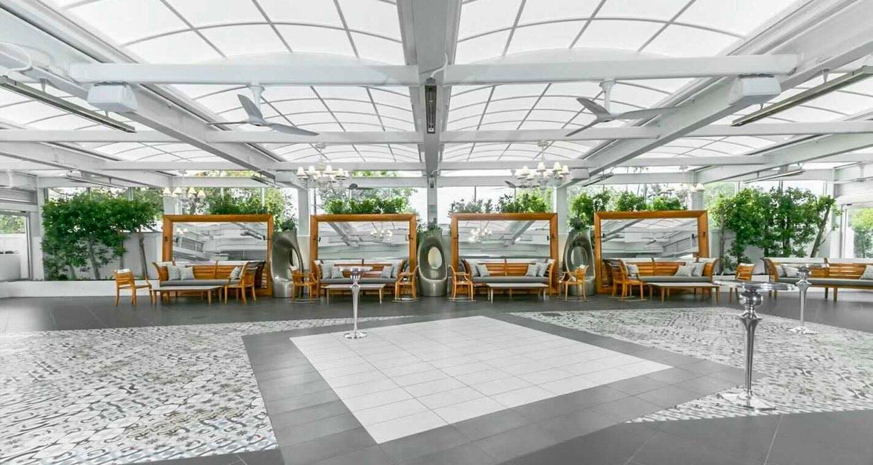Paradise Terrace at SLS Hotel