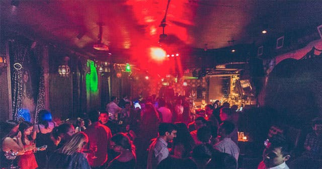 View of the interior of Le Souk after getting free guest list