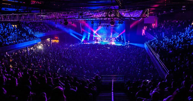 Inside look of Revention Music Center after getting free guest list