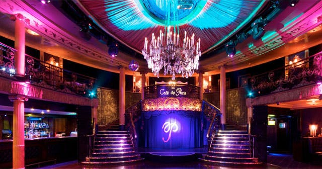 Inside look of Cafe de Paris after buying tickets