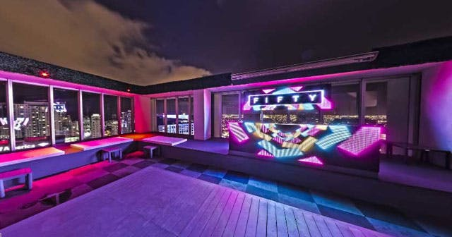 Inside look of Fifty at Viceroy after getting free guest list