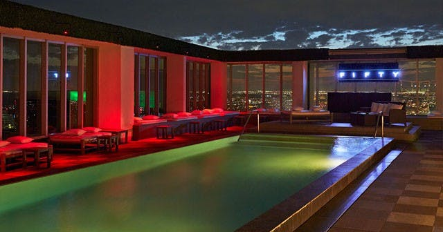 View of the interior of Fifty at Viceroy after getting free guest list