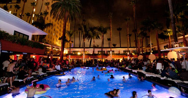 Inside look of Tropicana Pool at The Roosevelt after buying tickets