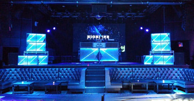 View of the interior of Highline Ballroom