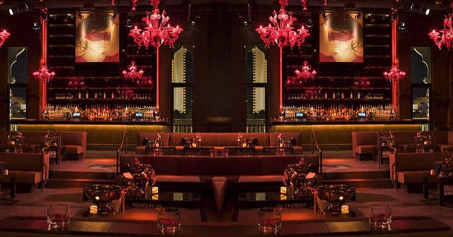 Inside look of Tao with bottle service