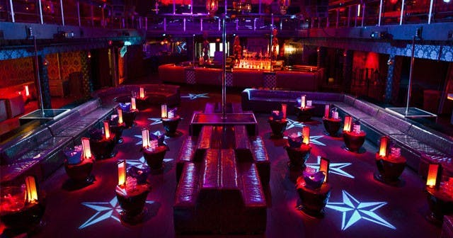 Inside look of Cameo with bottle service
